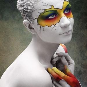 body painting torino-Ariel