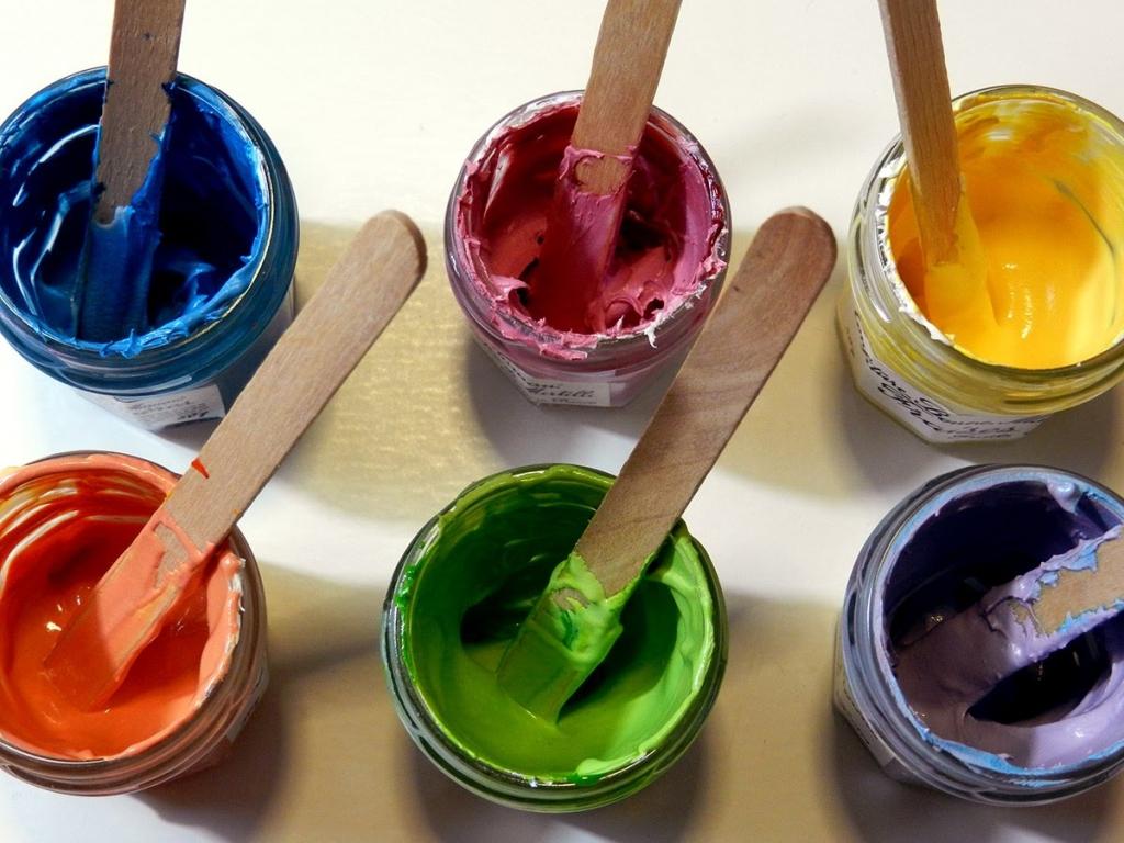 Come creare da soli i colori per il corpo